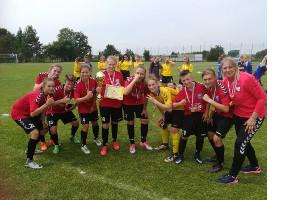 Złoty medal naszych piłkarek!